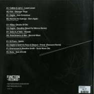 Back View : Various Artists - SHADOWS (3LP) - Function Records / FUNC050
