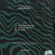 Back View : Diego Krause - STATE OF FLOW LP (PART 2) - LTD GREEN EDITION - RAWAX / RAWAX-S00.2G