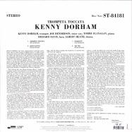 Back View : Kenny Dorham - TROMPETA TOCCATA (180G LP) - Blue Note / 0852549