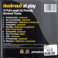 Back View : Deadmau5 - AT PLAY (CD) - Play Records / playcd001