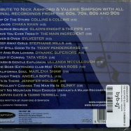 Back View : Various Artists - THE ASHFORD & SIMPSON SONGBOOK (CD) - Expansion Records / cdexp28