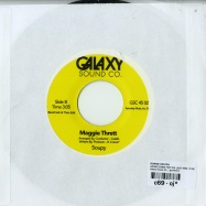 Back View : Ronnie Keaton - GOING DOWN FOR THE LAST TIME (7 INCH) - Galaxy Sound Co. / gsc45002