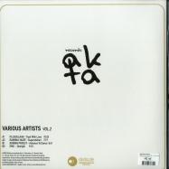 Back View : Various Artists - VARIOUS ARTISTS VOL 2 (180G VINYL ONLY) - AKTA Records / AKR02