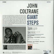Back View : John Coltrane - GIANT STEPS (180G LP) - Jazz Images / 1083076EL1