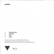Back View : Denis Horvat - EXTENSIONS OF BASE NOTES - Vokabularium / VOK001