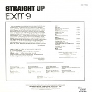 Back View : Exit 9 - STRAIGHT UP - Brunswick Record / bcr77006