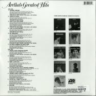 Back View : Aretha Franklin - ARETHAS GREATEST HITS (LP) - Rhino / 81227943516