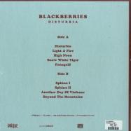 Back View : Blackberries - DISTURBIA (LP + MP3) - Unique Records / UNIQ230-1
