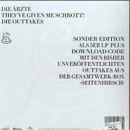 Back View : Die Ärzte - THEY VE GIVEN ME SCHROTT! - DIE OUTTAKES (5LP + MP3) - And More Bears / ALP 12611