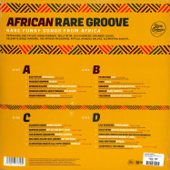 Back View : Various Artists - AFRICAN RARE GROOVE (2LP) - Wagram / 05197021