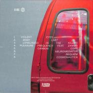 Back View : Fractions - VIOLENT EYES (LP) - Fleisch / F021