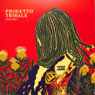 Back View : Progetto Tribale incl. Donato Dozzy - VOLUME 7 (2021 REPRESS RED SPLATTERED) - Danza Tribale / DNZT008