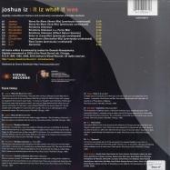 Back View : Joshua Iz - IT IZ WHAT IT WAS (2X12) - Vizual Records / vizltd001v