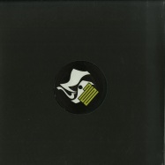 Back View : Mystic Letter K (Cari Lekebusch) - SOUL STORM (BLACK WHITE SPLATTER) - MLK / MLK1