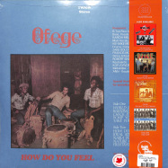 Back View : Ofege - HOW DO YOU FEEL (180G LP) - Tidal Waves Music / TWM046 / 00139009