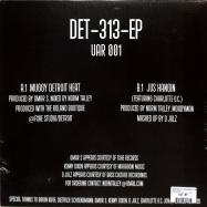 Back View : Norm Talley, Moodymann, Omar-S, D Julz - DET-313-EP - Upstairs Asylum Recordings / UAR001