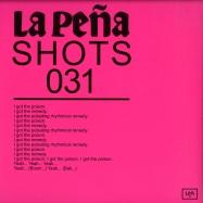 Back View : Bolumar & Moises - MENTAL PLEASURE / REVENANT (10 INCH) - La Pena Shots / LPAS031