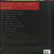 Back View : Specter - BUILT TO LAST (3X12 INCH VINYL) - Sound Signature / SS073/74/75