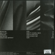 Back View : QZB - TAKE IT ALL (SILVER & BLACK VINYL + MP3) - Critical Music / CRIT120
