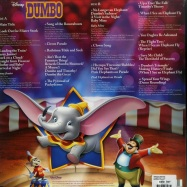 Back View : Various Artists - DUMBO O.S.T. (LP) - Walt Disney / 8740327