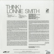 Back View : Lonnie Smith - THINK! (LP) - Blue Note / 7753113