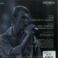 Back View : David Bowie - THE TOKYO EP (RED 7 INCH) - Rocks Lane / KITTY27EP003-C