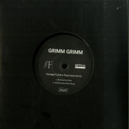 Back View : Grimm Grimm - KAZEGA FUITARA SAYONARA REMIXES (7 INCH) - Birdfriend / BFR02