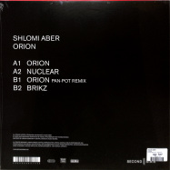 Back View : Shlomi Aber - ORION - Second State Audio / SNDST079