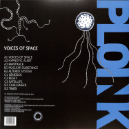 Back View : Joaquin Ruiz - VOICES OF SPACE (2X12 INCH) - Ploink / Ploink027