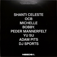 Back View : Shanti Celeste / Ocb / Michelle / Bobby / Peder Mannerfelt / Yu Su / Adam Pits / DJ Sports - NEEDS X WORLD MENTAL HEALTH DAY 2020 (2LP, 180 G VINYL) - Needs (not-for-profit) / NNFP 008
