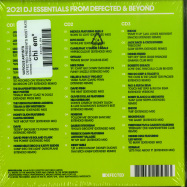 Back View : Various Artists - DEFECTED PRESENTS MOST RATED 2021 (3CD, UNMIXED) - Defected / RATED32CD