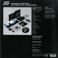 Back View : Daft Punk - Box Alive 2007/ Alive 1997 (180g4xWhite LP) (Ltd Deluxe Box plus 52pg Booklet) - Parlophone 6489255