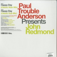 Back View : Paul Trouble Anderson pres. John Redmond - HAPPY DAY - BBE / BBE543SLP / 9013608