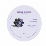 Back View : XHZ / Jake Flory - LAVENDER EP - Beeyou / BEEY 003
