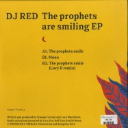 Back View : DJ Red - THE PROPHETS ARE SMILING EP (LORY D REMIX) - Danza Tribale Italy / DNZT006
