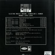 Back View : E.M.U. - ELECTRO MUSIC UNION, SINOESIN & XONOX WORKS 1993 - 1994 (2LP) - Cold Blow, AVA. Records / BLOW02 / AVA.LP007