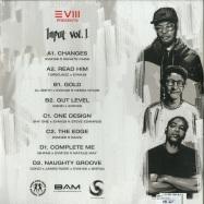 Back View : EVM128 - INPUT VOL.1 (2LP) - Studio Rockers / STUDRCDLP011