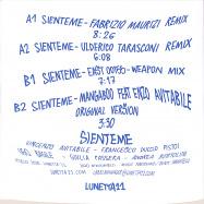 Back View : Mangaboo feat. Enzo Avitabile - SIENTEME (THE REMIXES) - Lunetta11 / LNTVNL001