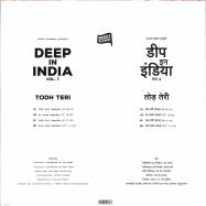 Back View : Todh Teri - DEEP IN INDIA VOL.7 (LIMITED) - Todh Teri / TODH007