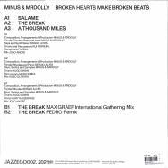 Back View : Minus MrDolly - BROKEN HEARTS MAKE BROKEN BEATS (MAX GRAEF REMIX) - Jazzego / JAZZEGO002