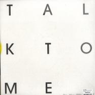 Back View : Hey Today! - TALK TO ME (LTD YELLOW VINYL) - Turbo078