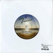 Back View : Tridact - ONE WHEEL RACE / SKY BLUE DART (7 INCH) - Internasjonal / INTTRIDACT7