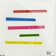 Back View : Klangkuenstler - DAS BIN ICH EP (INCL ALBUM DOWNLOAD CODE) - Kallias Records / KAL014