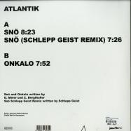 Back View : Atlantik - SNOE EP (SCHLEPP GEIST REMIX) - Feines Tier / FT005