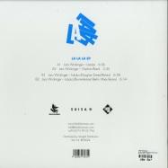 Back View : Lars Wickinger - LA LA LA (INCL DOUGLAS GREED RMX) - Black Fox Music / BFM024