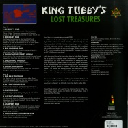 Back View : King Tubby - LOST TREASURES (LP) - Jamaican / JRLP001