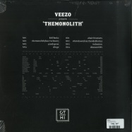 Back View : Veezo - THEMONOLITH EP - CT-HI Records / CTHI 005