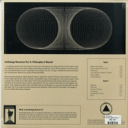 Back View : Dean Hurley - ANTHOLOGY RESOURCE VOL. II: PHILOSOPHY OF BEYOND (LP + MP3) - Sacred Bones / SBR225LP / 00134403