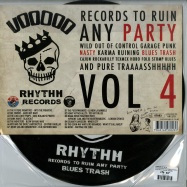 Back View : Various Artists - VOODOO RHYTHM COMPILATION VOL.4 (PICTURE LP) - Voodoo Rhythm Records / 00068885