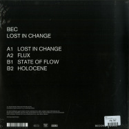 Back View : BEC - LOST IN CHANGE - Second State Audio / SNDST069